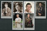 Jersey 2018 MNH Prince Charles 70th Birthday 6v Set Royalty Stamps