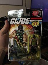 G.I. Joe 25th Cobra Reptile Trainer Croc Master MOSC