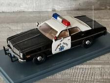 Ricko 38468 Dodge CHARGER Police 911 USA Polizia Nero sceriffo PATROL 1:87 h0