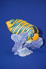 Jeweled Ocean Porcelain Fish Figurine Ellis Franklin Mint - Royal Empress