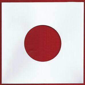 "10 White Paper Record Sleeves For 7"" Vinyl Singles"
