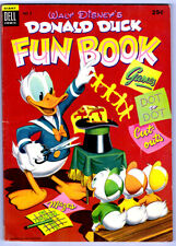 Dell Giant: DONALD DUCK FUN BOOK #2 in FN/VF condition 1954 Golden Age Comic