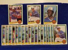 Pre-owned ~ 1983 Donruss Toronto Blue Jays Baseball Cards (Gott, Upshaw, Griffin