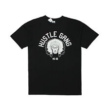 Mens Hustle Gang Chief Logo T-shirt Black