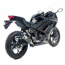 2013 Ninja 300R Leo Vince LV One Evo II Carbon Fiber Slip On Exhaust 8741