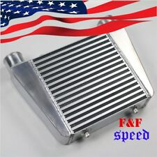 "2.5"" Inlet & Outlet  Universal Bar&Plate Front Mount Turbo Intercooler 16x13x3"