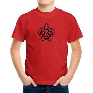 Toddler Kids Tee T-Shirt Graphic Turtle Shirt Sea Life Lover Gift Sea Ocean