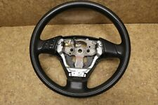 * 04-09 Mazda 3 Black Leather Steering Wheel with Audio Control
