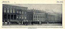 Husarenregiment Landgraf Friedrich II. von Hessen- Homburg Nr.14 in  Kassel 1902