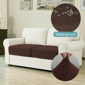 Stretch Sofa Seat Cover Couch Slipcover Cushion Elastic Knitted Protector Settee