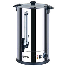 Igenix IG4030 Catering Urn & Hot Water Boiler, 30 Litre