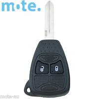 Chrysler Dodge 300C Calibre Nitro Voyager 2 Button Key Remote Case/Shell/Blank