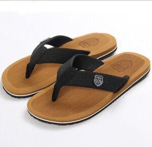 Mens Summer Beach Flip Flops Slippers Sandals Beckham Fashion 10 11 12 13 14 15