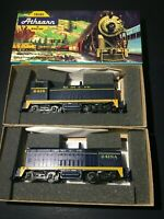 Athearn HO ATSF Santa Fe SW7 COW & CALF Diesel Locomotive Set BOTH POWERED - NEW