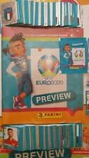EURO 2020 Preview Album + Complete 568 Stickers Set
