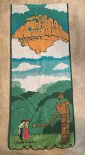 Official Studio Ghibli Laputa Castle In The Sky Towel