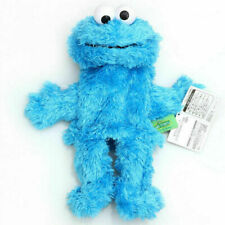 "Hand Puppets 14"" Elmo Cookie Monster Sesame Street Soft Plush Toy Kid Fun"
