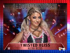 DIGITAL Topps Slam Alexa Bliss Famous Finishers Banks Statement Video Card