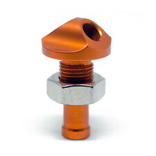 "ADA Racing Billet Aluminum Water Bypass 45 Degree 3/8"" MADE IN USA - ORANGE"