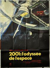 2001: A SPACE ODYSSEY R/1970 ORIG 46X62 MOVIE POSTER STANLEY KUBRICK KEIR DULLEA
