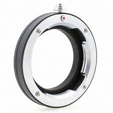Anello conversione adattatore Corpo Micro-4/3 Ottica Leica M
