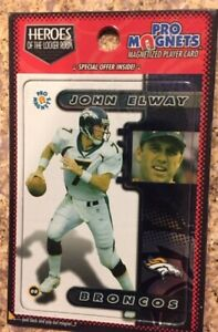 John Elway Magnet Denver Broncos Heroes of The Locker Room Free Shipping