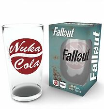 Fallout 4 Nuka Cola Glass Boxed Brand New Pip Novelty Gift Official Merchandise