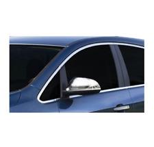 Vauxhall Opel Astra J chrome Mirror Cover Caps Acier inoxydable 2010-2015