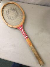 Vintage Tracy Austin Spalding Wood Tennis Racquet Racket 4 1/8  light