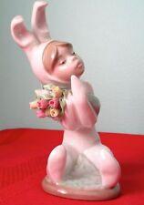 Lladro Rare Retired SPRING FLOWERS 1509 Porcelain Vintage Figurine