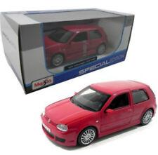 Volkswagen Golf R32 GT1 Red 1/24 Scale Diecast Car Model By Maisto 31290