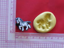 Baby Zebra Silicone Mold A911 Candy Chocolate Fondant Miniature Baby Shower