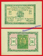 Billete local TOTANA 50 Centimos 1937 SC / UNC