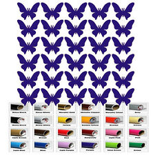 30 Butterfly stickers f Art Decal Home Decor Wall Window Room Envelope party Cup