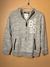 Cat And Jack Kids Gray Sweater With Hood Size S 6/7