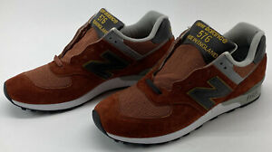 NEW BALANCE 576 Boston Limited Mens Size 10 D Running Made in England Brick Red