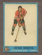 1962-63 Topps Hockey No. 34 Hawks Stan Mikita Vg