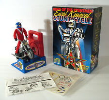 Evel Knievel KING OF THE STUNTMEN STUNT CYCLE 1998 Complete, MINT with EX Box!