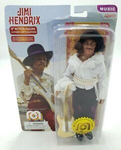 """Mego Jimi Hendrix 8"""" Action Figure New Damaged Package"""