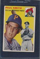 1954 Topps #011 Paul Smith Pirates Fair 54T11-100615-2
