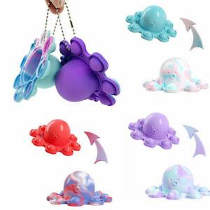 Simple Dimple Reversible Octopus Special Needs Sensory Fidget Kid Toy Autism UK