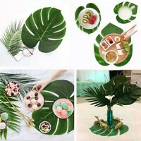 PVC Tropical Leaf Shape Non Slip Placemat Insulation Dining Table Place Mat 520