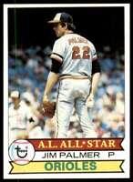 1979 Topps (Njs2) Jim Palmer Baltimore Orioles #340