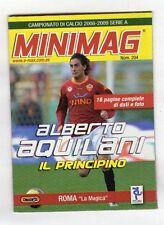 MINIMAG CAMPIONATO 2008-2009 - ROMA N. 204 ALBERTO AQUILANI