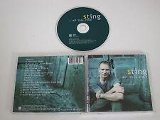 STING ALL THIS TIME(A&M 493 156-2) CD ÁLBUM