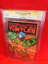Teenage Mutant Ninja Turtles #41 CGC 9.8 NM/MT White Pages Signed by Eastman