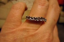Natural Tunduru Colour Change Sapphire Ring Sterling Silver 1.60cts L.