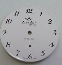 Eaglestar- watch dial for  ETA-Ut 6376 33.1 mm Arabic numbers
