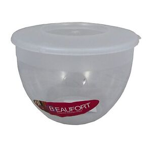 Beaufort Plastic Pudding Steamer Basin with Clip-on Lid
