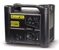 New CARB Champion 2000 watt Gas Portable Gasoline Generator Inverter Super Quiet